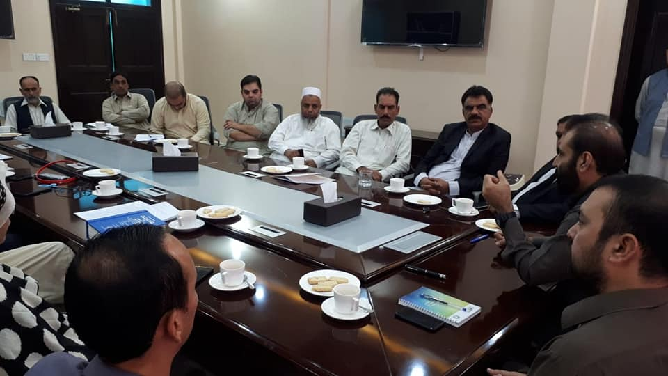 DG KPRA Meeting with Land Developers in Peshawar for Sales Tax Compliance and filing of regular returns