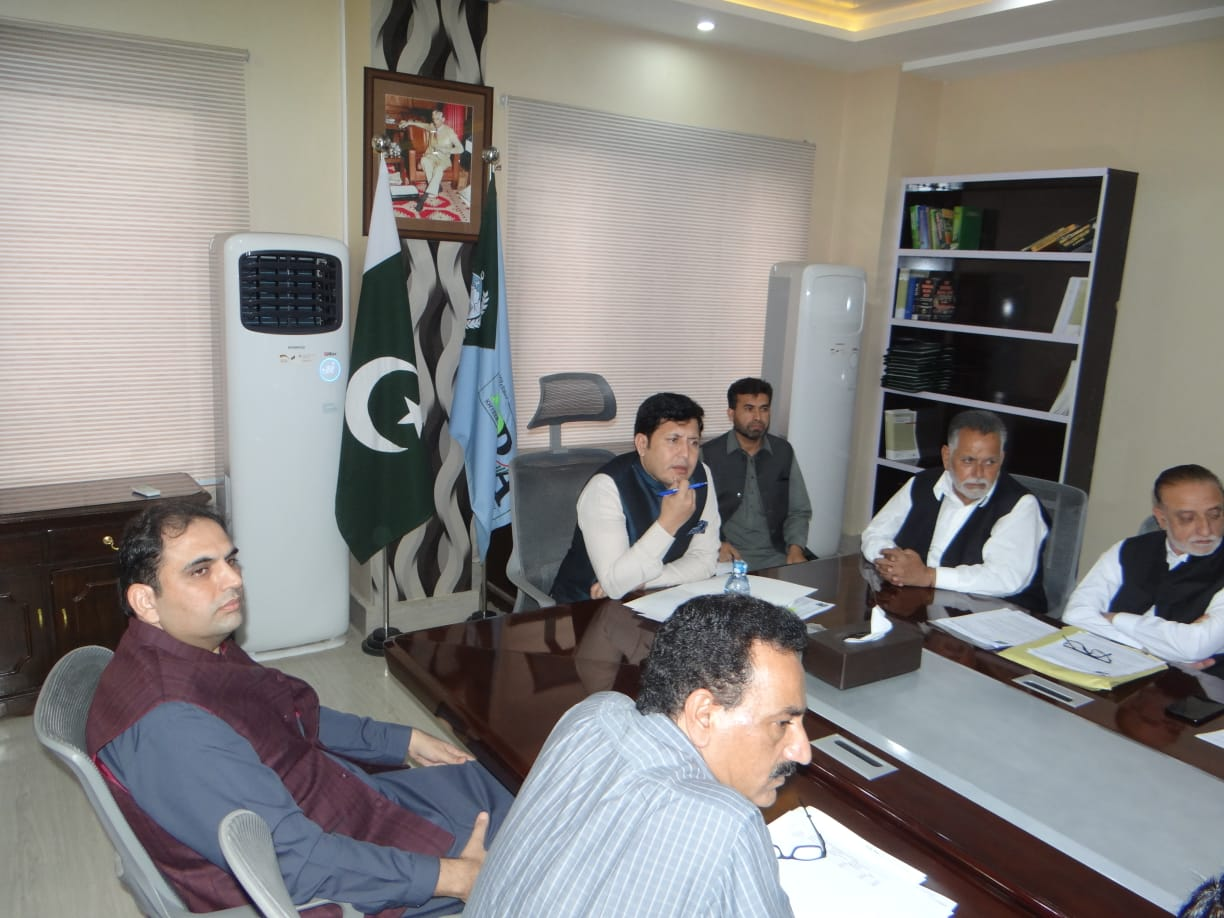 Meeting with Naran and Galyat Hotel Association