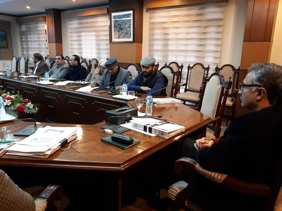 Chief Secretary Khyber Pakhtunkhwa, Dr Kazim Niaz appreciated the performance of the Authority during a presentation By DG KPRA