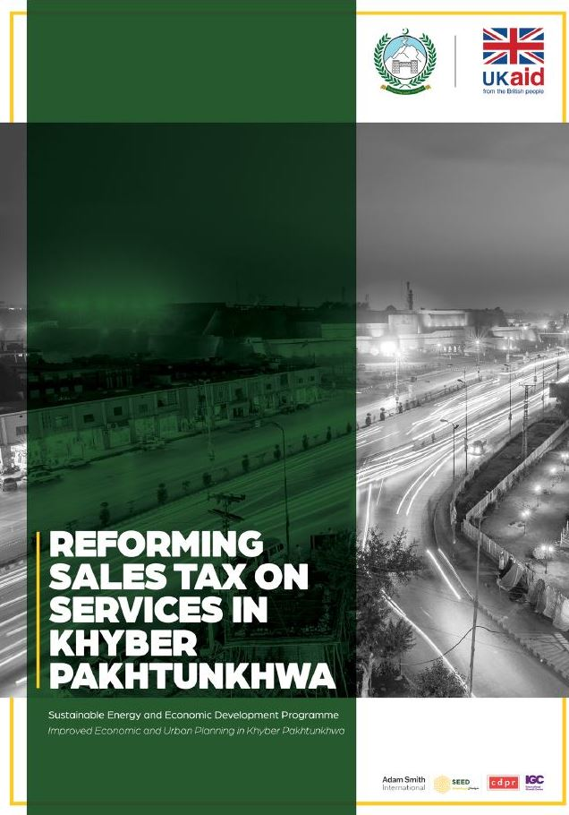 Reforming Sales Tax on Services in Khyber Pakhtunkhwa
